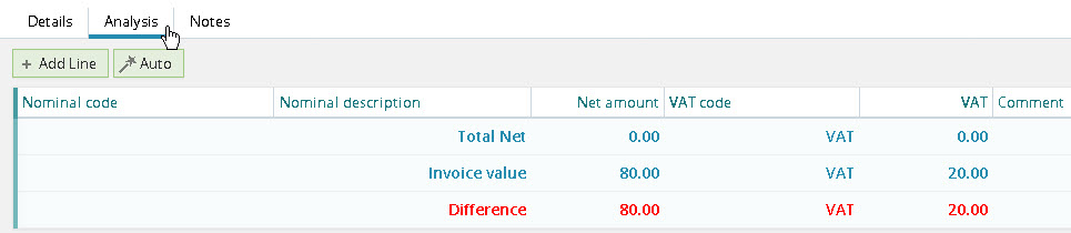 purchase invoices synergist express ltd